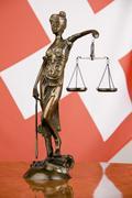 art banner court culture descision equality flag - stock photo