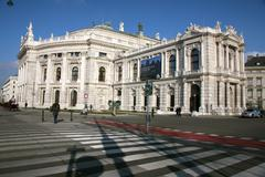 Austrian europe european state wien vienna Stock Photos