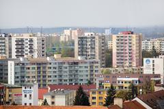 Talo eurooppa eurooppalainen elintaso rakennuksen todellista hintaa Kuvituskuvat