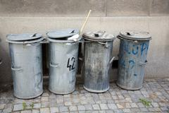 Stock Photo of garbage can dust bin doings dustbin cans things