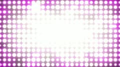 Colorful Disco Wall (25fps) Stock Footage