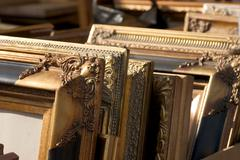Stock Photo of frame art ornament ancient world barroque old