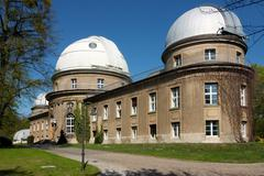 astronomy physics research potsdam science - stock photo
