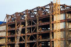 Building cancel government politics demolition Stock Photos