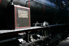Stock Photo of hand technology austrian federal railways brass