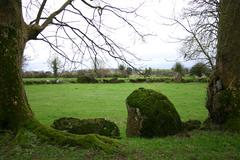 Belief celts moss religion stone circle lough Stock Photos
