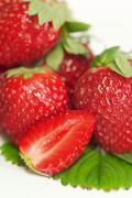 Food summer fruit cooking eat garden health red Stock Photos