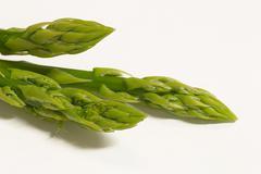 food asparagus expensive fresh green health bar - stock photo