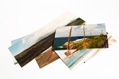 Art digital holiday panorama photo album picture Stock Photos