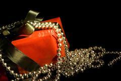Joulu muoti paperi adventti keula ketju pimeä Kuvituskuvat