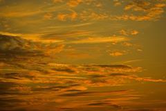 Cloud mood sunset clouds sky sunny cloudy airy Stock Photos