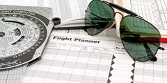 Aviator sunglasses Stock Photos