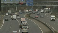 Stock Video Footage of UK traffic / cars / road - Traffic012