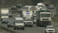 Stock Video Footage of UK traffic / cars / road - Traffic014