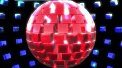 Square Sphere (3 of 4) Stock Footage