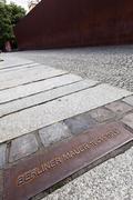 berlin wall berliner mauer 1961 - 1989 - stock photo