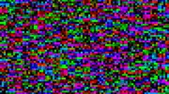 Video static noise background Stock Footage