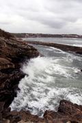 Furious waves Stock Photos