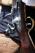 Gun closeup Stock Photos