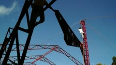 Structural Steel Boom - stock footage