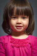 Toddler studio portrait Stock Photos