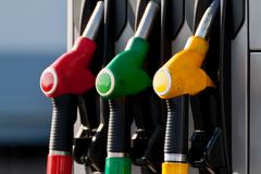 petrol pump - stock photo