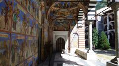 Stock Photo of Rila Monastery mosaics