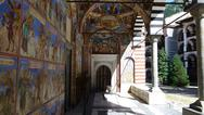 Stock Photo of Rila Monastery mosaics