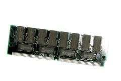 computer memory chips - stock photo