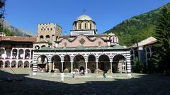 Rila Monastery - stock photo