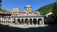 Stock Photo of Rila Monastery