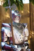 Medieval armor suit Stock Photos