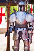 Medieval armor suit Stock Photos