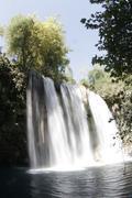 Stock Photo of water upper duden waterfalls antalya fall europe