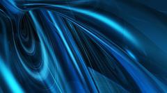 Abstract Blue Light Stock Illustration