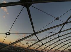 Stock Photo of modern cupola skyline sky austria horizontal 11