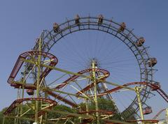 Stock Photo of vienna giant ferry wheel adrenaline amusement