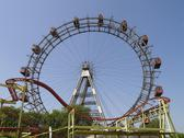 Stock Photo of vienna giant ferry wheel adrenaline amusement