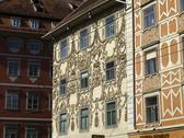 Graz old city center main square austria tourism Stock Photos