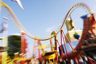 Stock Photo of amusement park prater vienna adrenaline austria