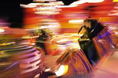 Stock Photo of amusement park prater vienna adrenaline austria