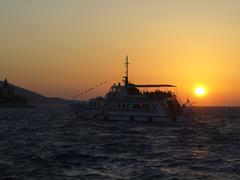 Stock Photo of korcula croatia horizontal format island carrier