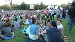 Tropfest film festival in Sydney - stock footage