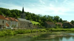 Small French Village - stock footage