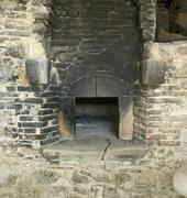 Stock Photo of old stone oven