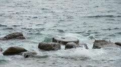 tidal bore - stock footage