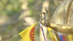 Buddha image Stock Footage