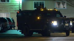 SWAT Leaving Stock Footage