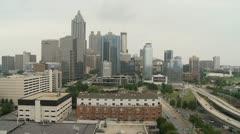 CITY-0001 Atlanta Skyline Arkistovideo