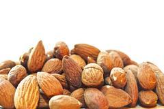 Stock Photo of almonds